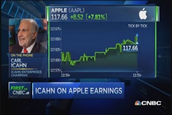 Carl Icahn: Apple should do bigger buyback