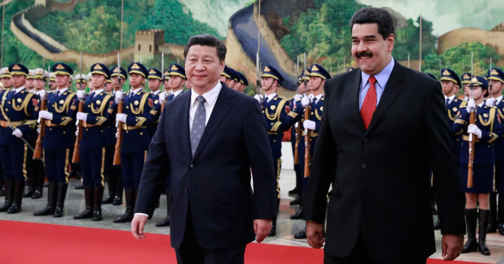 China and Russia loaned billions to Venezuela — and then the presidency went up for grabs