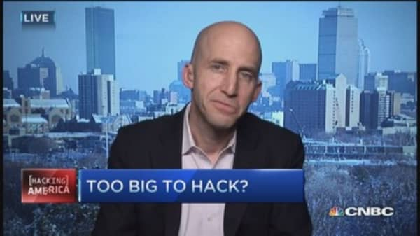 Can companies be too big to hack?
