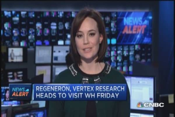 Regeneron, Vertex execs heads to White House