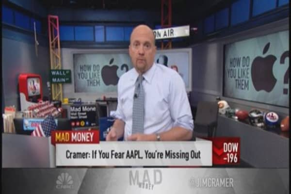 Cramer: Own Apple, don't trade it