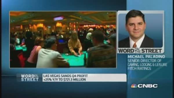 Las Vegas Sands' profits were 'deceiving': Fitch