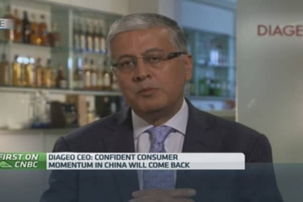 Russia market 'slower': Diageo CEO