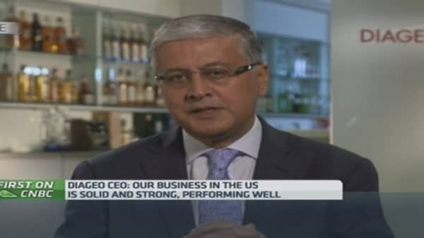 We were hit by China's austerity drive: Diageo CEO