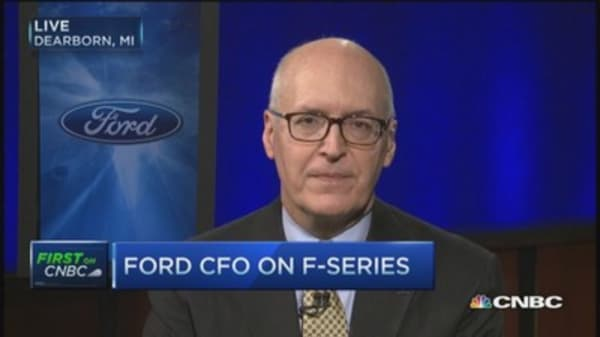 Ford's growth plan hits Russia hiccup