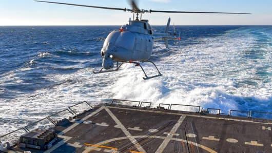 Northrop Grumman Unmanned MQ-8C Fire Scout