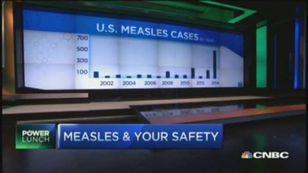 Danger: Measles and your safety