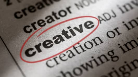 Creative definition in dictionary