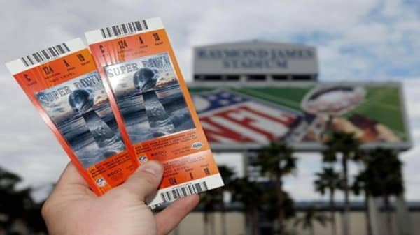 Super Bowl tickets hit $8,000