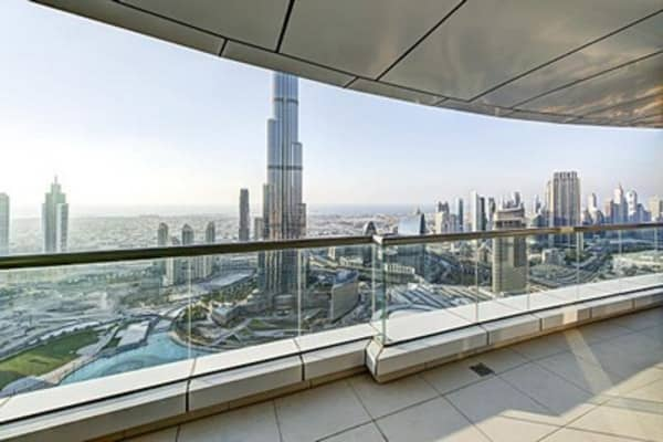 Soar above Dubai in this $7.6M penthouse