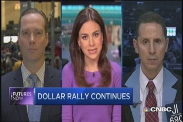 King dollar crushes commodities