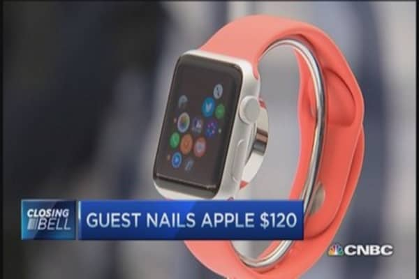 Apple Watch risk point: Trader