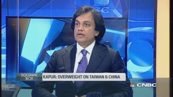 Why BofA likes China, India and Japan