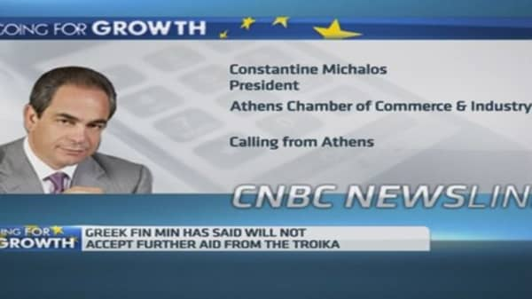 Greece needs tax reform: Business group