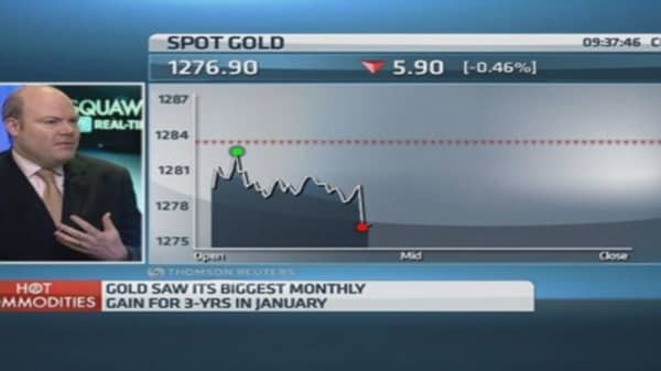 The gold price is going down: Pro