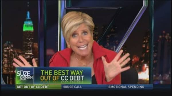 Best way out of credit card debt