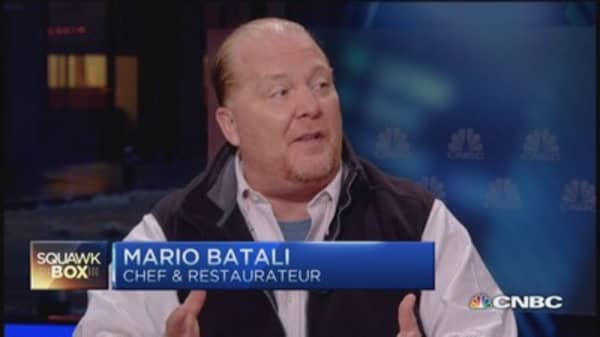 Mario Batali launches new web series