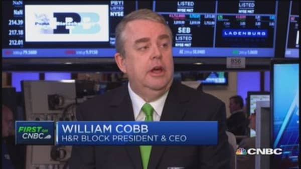 H&R Block CEO: New tax rules this season