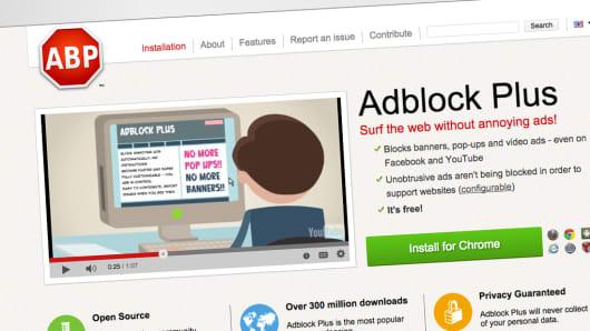 Adblock Plus home page