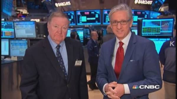 Cashin says: Economic news 'not robust'
