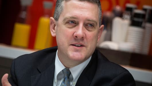 James Bullard, president of the St. Louis Federal Reserve Bank
