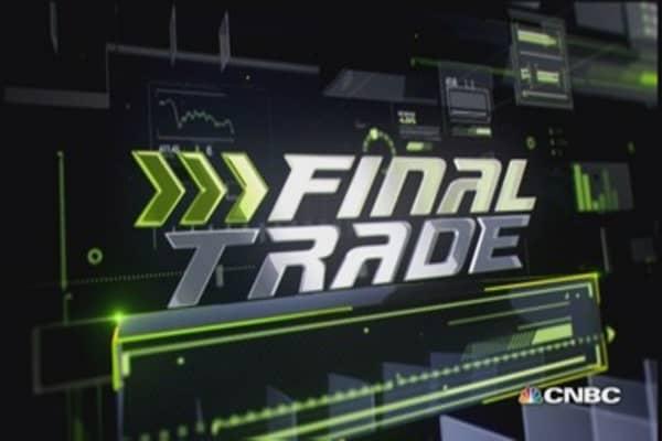 FMHR Final Trade: DEO, AET & XLF