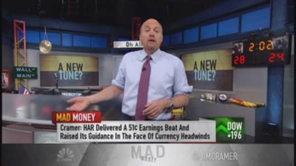 Cramer: How to play the connected car