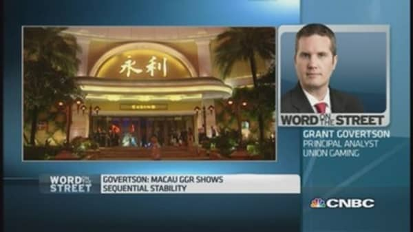 This analyst has a 'buy' call on Macau gaming shares