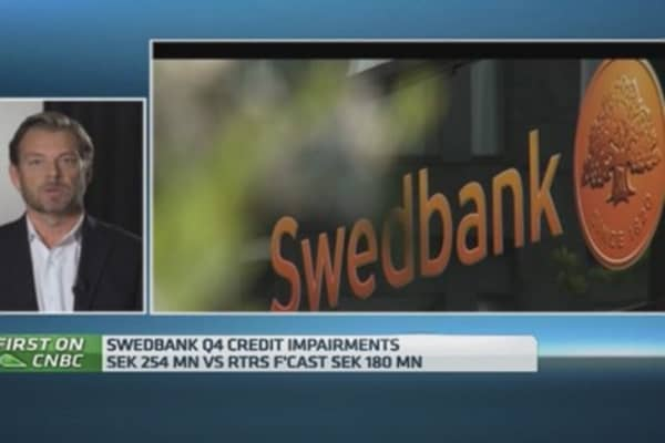 Capital rules starting to look 'invalid': Swedbank boss