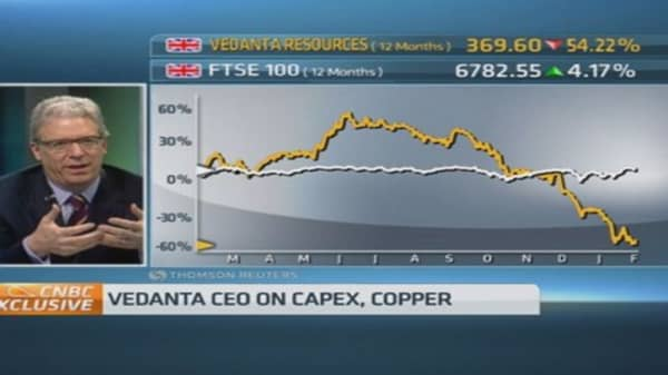 India 'revitalization' will boost copper demand: CEO