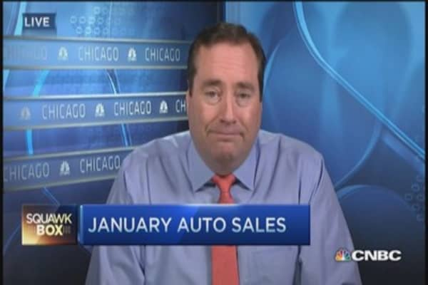 Solid January auto sales expected
