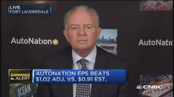 Best Q4 ever: AutoNation CEO