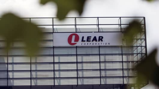 Lear headquarters in Southfield, Mich.