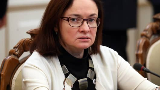 Russian Central Bank Governor Elvira Nabiullina