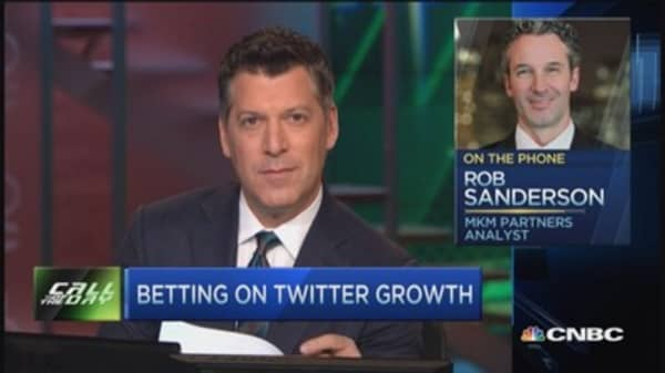 Analyst: Twitter can rally 63% this year