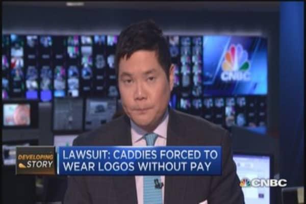 PGA sued by caddies