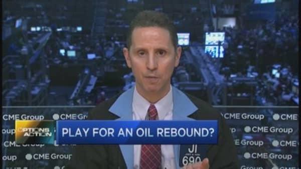 Massive bet on energy stocks