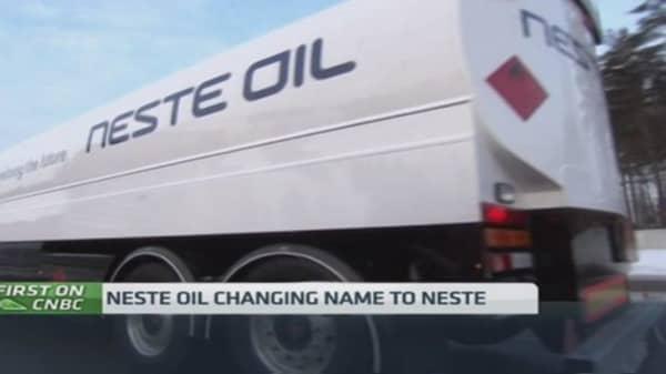 Neste Oil's not so into oil anymore