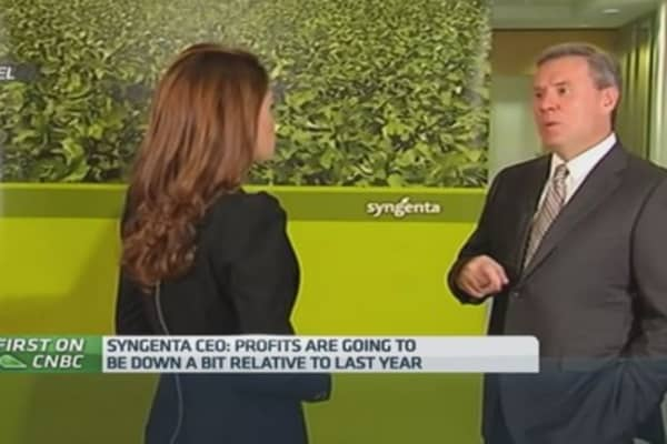 Syngenta CEO: Why profits will be lower