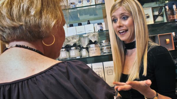 Marla Malcolm Beck, Bethesda native and founder of the successful apothecary beauty boutiques 'bluemercury'.