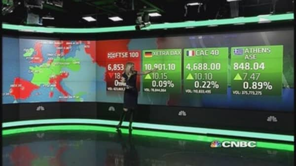 Europe shares close mixed; LVMH, Greek banks soar