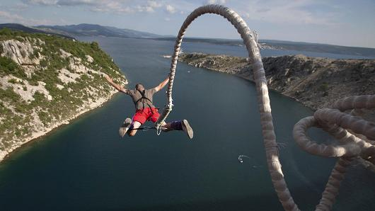 Bungee Jumping risk taking
