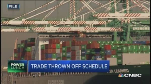 Port congestion in crisis