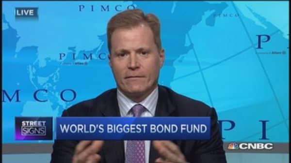 Bond yields sink