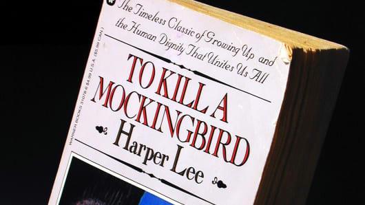 "Harper Lee's novel, ""To Kill A Mockingbird."""