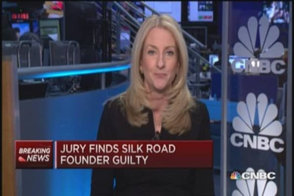 Jury: Silk Road founder guilty on all counts