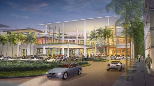 Rendering of The Mall of San Juan