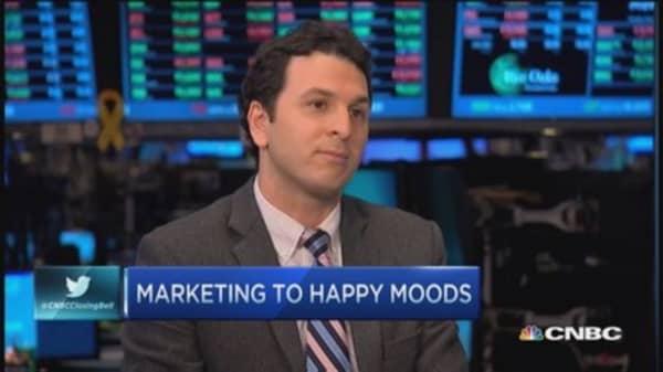 Social marketing to happy (& sad) folks