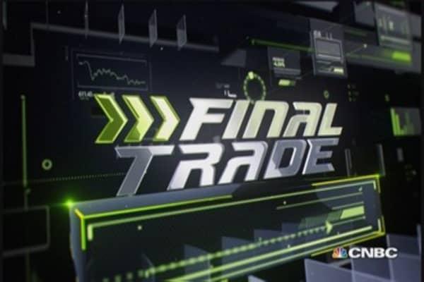 Fast Money Final TradeTWTR, EWC, SUNE & GG