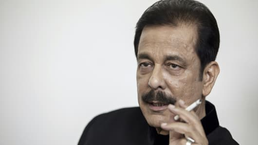 Subrata Roy Head of Sahara Group